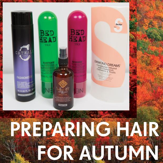 Preparing Hair For Autumn