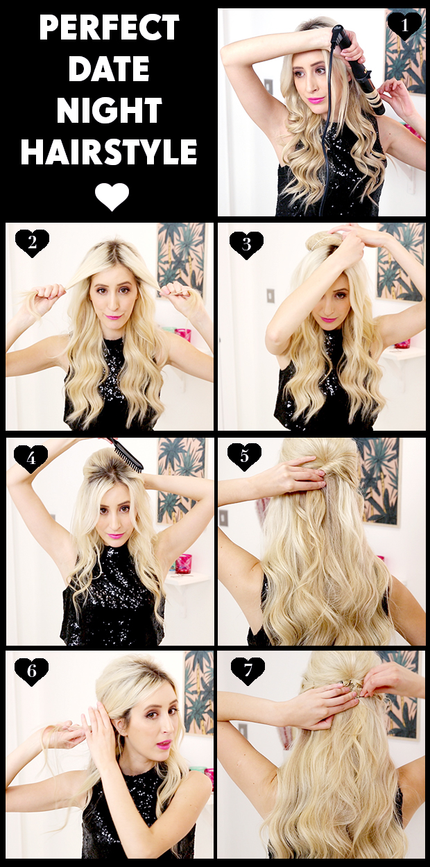 Pleasant The Ultimate First Date Hairstyle Hair Extensions Blog Hair Short Hairstyles Gunalazisus