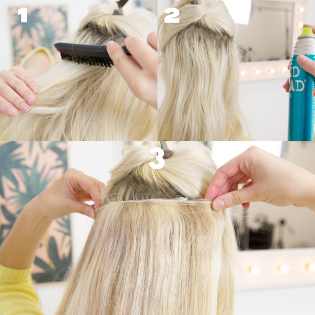 Make Clip In Extensions Stay In Human Hair Extensions