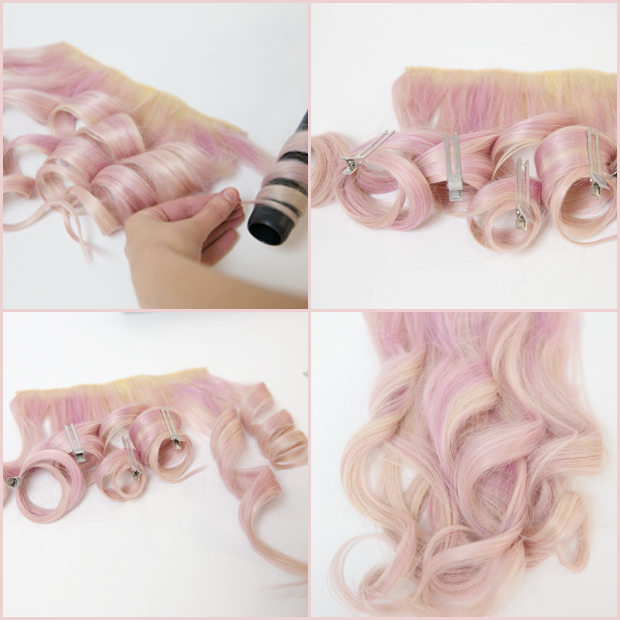 How To Get Long Lasting Curls In Your Hair Extensions Hair