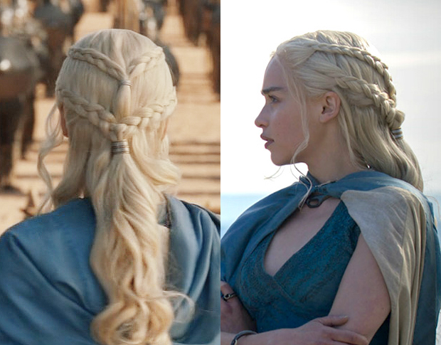 Daenerys From 'Game Of Thrones' Hair Tutorial / Hair ...