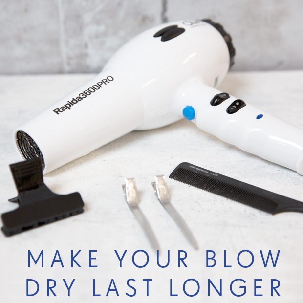 How to Make Your Blow Dry Last Longer