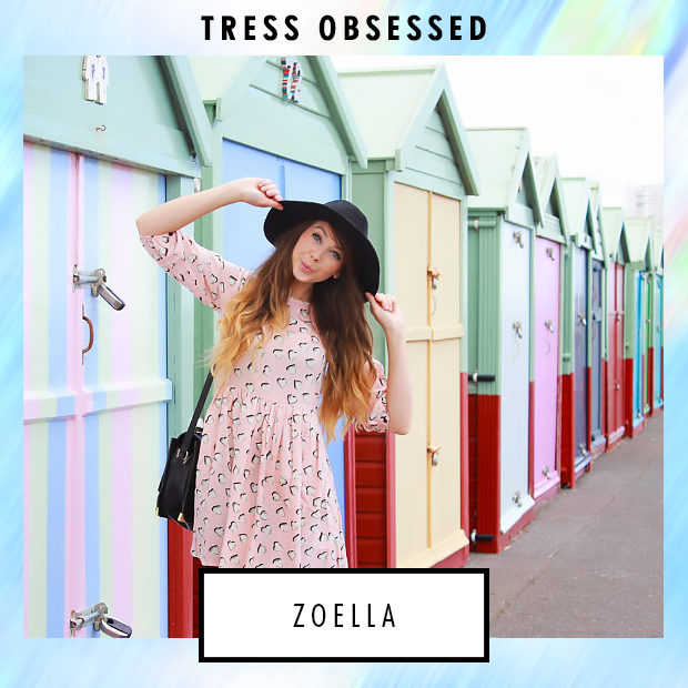 Zoella's Hair