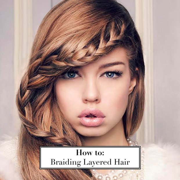 How to Braid Layered Hair