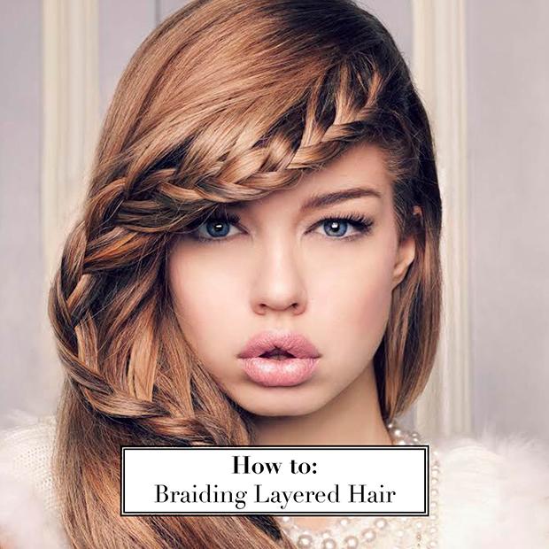 Phenomenal How To Braid Layered Hair Hair Extensions Blog Hair Tutorials Short Hairstyles For Black Women Fulllsitofus