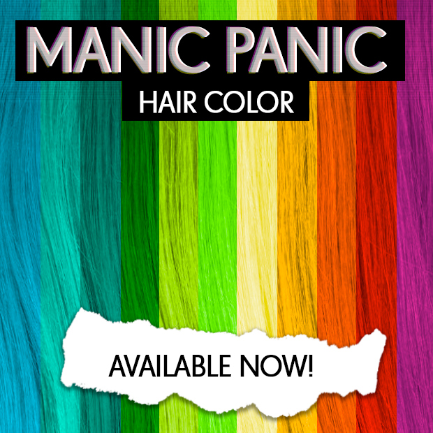 Dirty Looks Are Now Stocking Manic Panic Hair Dye Hair Extensions