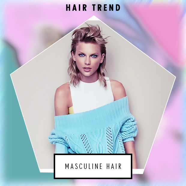 The Masculine Hair Trend For Women