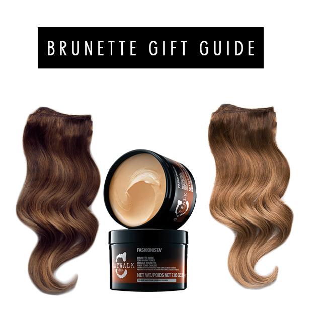 Gift guide for brunette hair