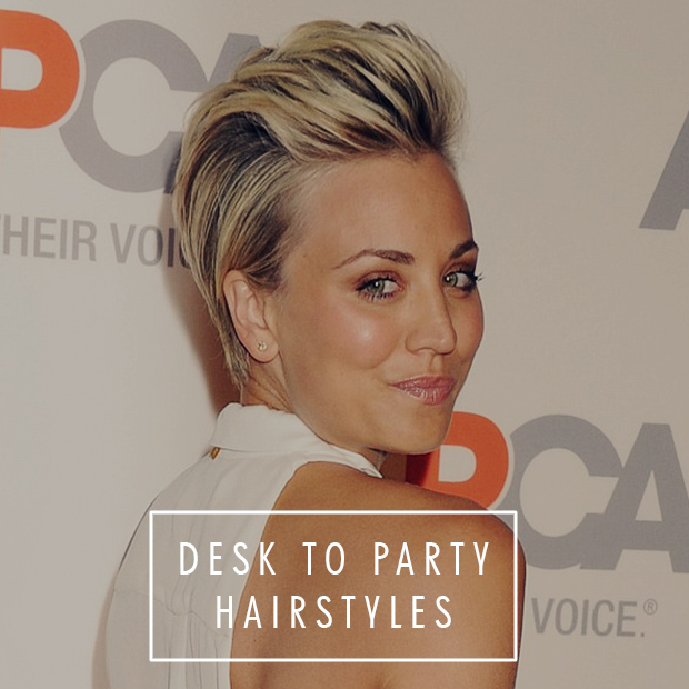 Desk To Party Hairstyles Hair Extensions Blog Hair Tutorials
