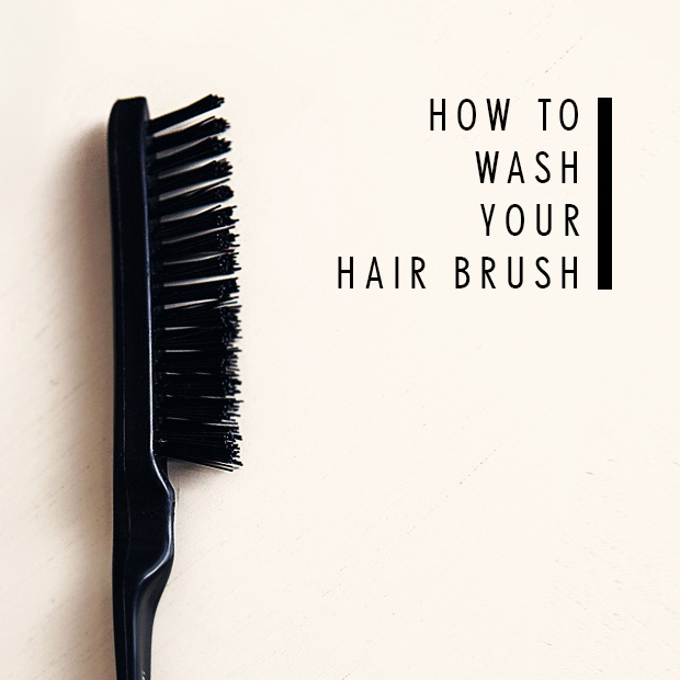How to Wash Your Hair Brush