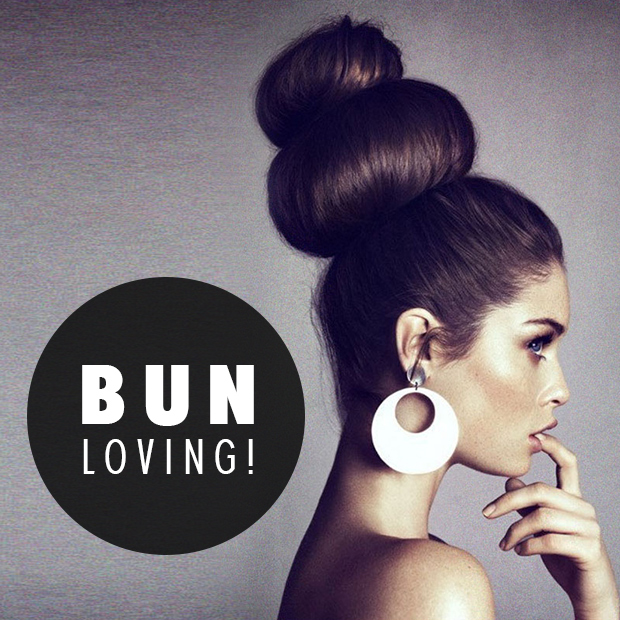 hair buns and hair extensions