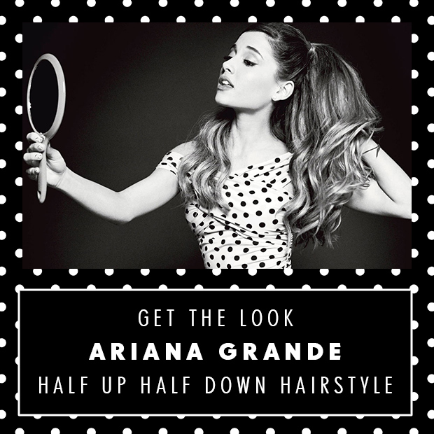 Get Ariana's look