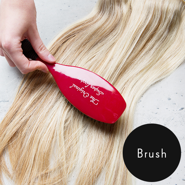 How Do You Brush Your Hair With Extensions 120