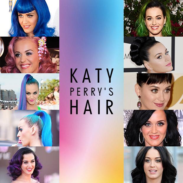 katy perrys hair