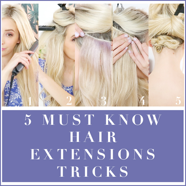 5 Must Know Hair Extension Tricks Hair Extensions Blog Hair