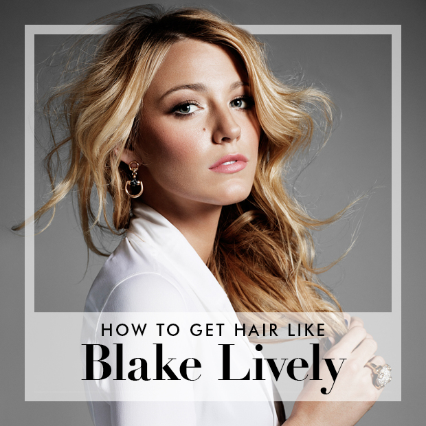 How To Get Blake Livelys Hair Using Hair Extensions Hair