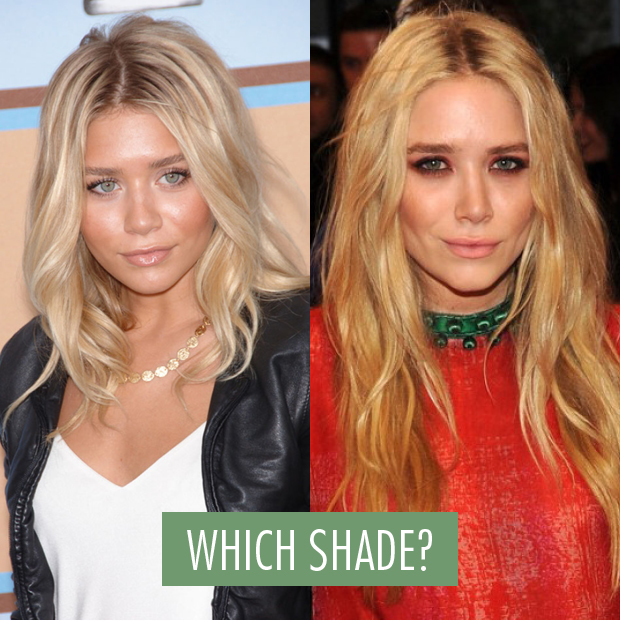ashley olsen kate color hair Mary and