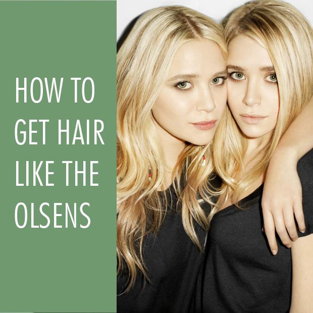 How To Get Hair Like The Olsen Twins Using Hair Extensions Hair