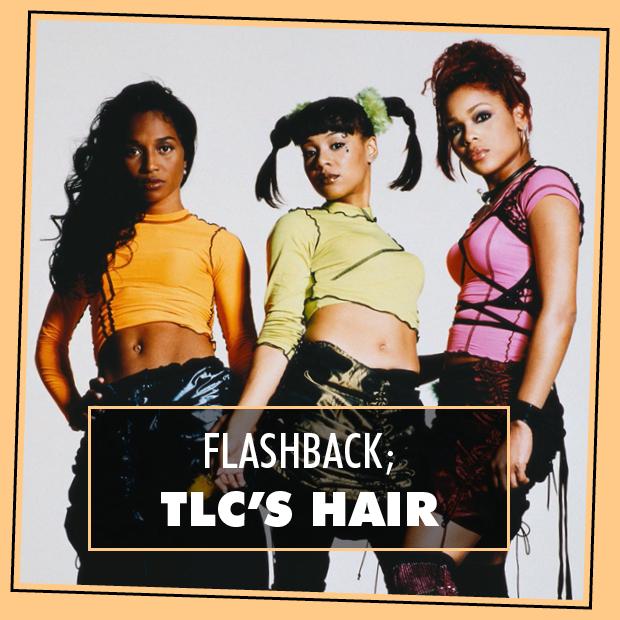 Flashback Tlcs Hair Hair Extensions Blog Hair Tutorials
