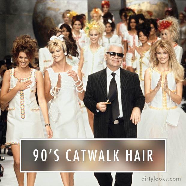 90's-Catwalk-Hair-90's-Models