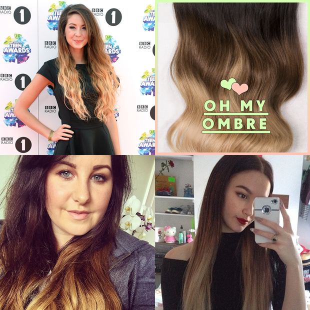 Which ombre hair extensions are right for you hair extensions oh my ombre dirty looks hair extensions pmusecretfo Gallery