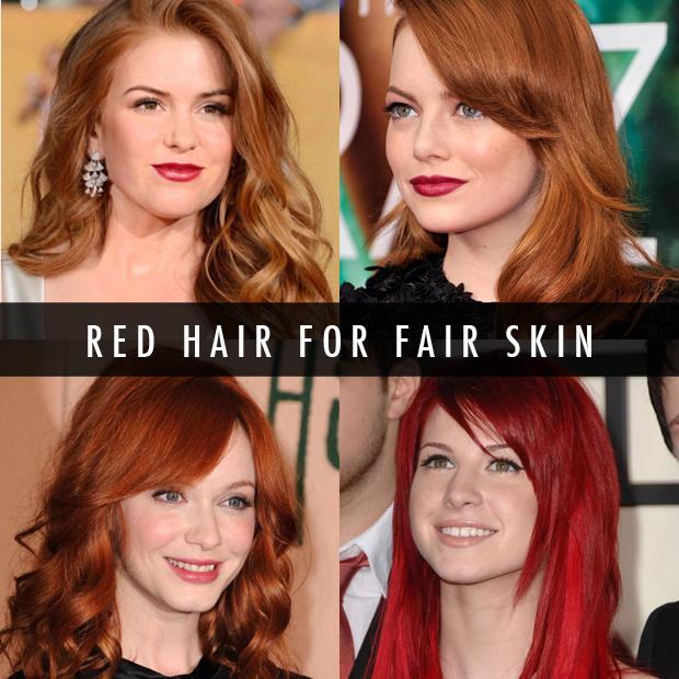 How To Find The Perfect Red Hair For Your Skin Tone  Hair Extensions Blog  Hair -2612
