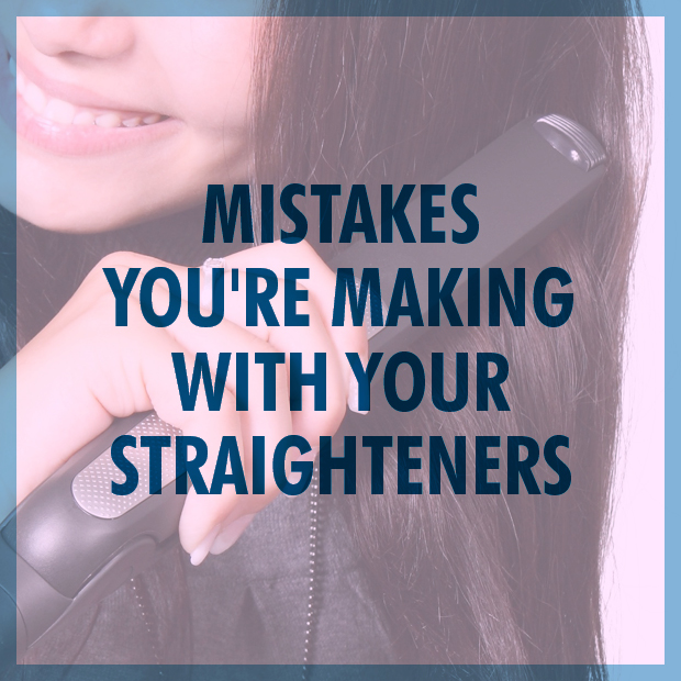 Mistakes You're Making With Your Hair Straighteners
