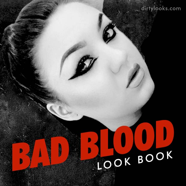 Dani's social square for the Taylor Swift Bad Blood Look Book