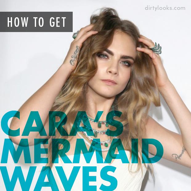 How to get Cara Delevingne's Mermaid Waves