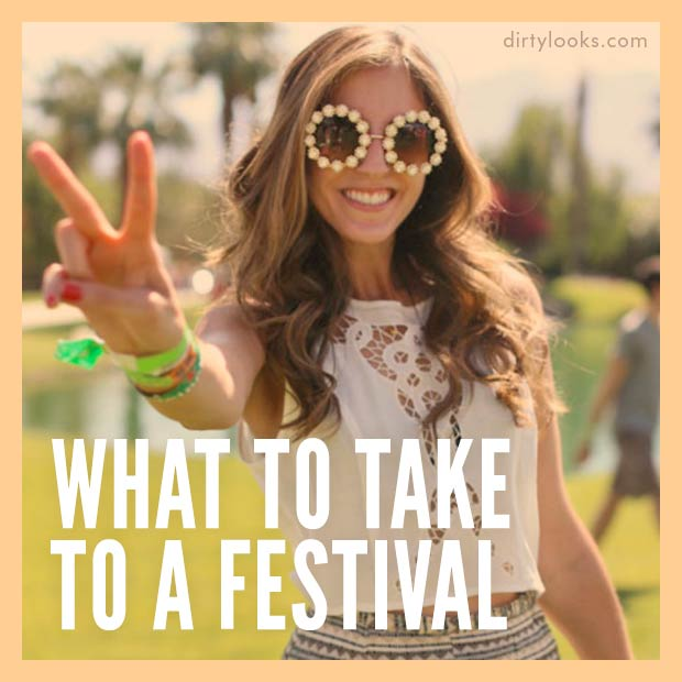 What to Take to a Festival