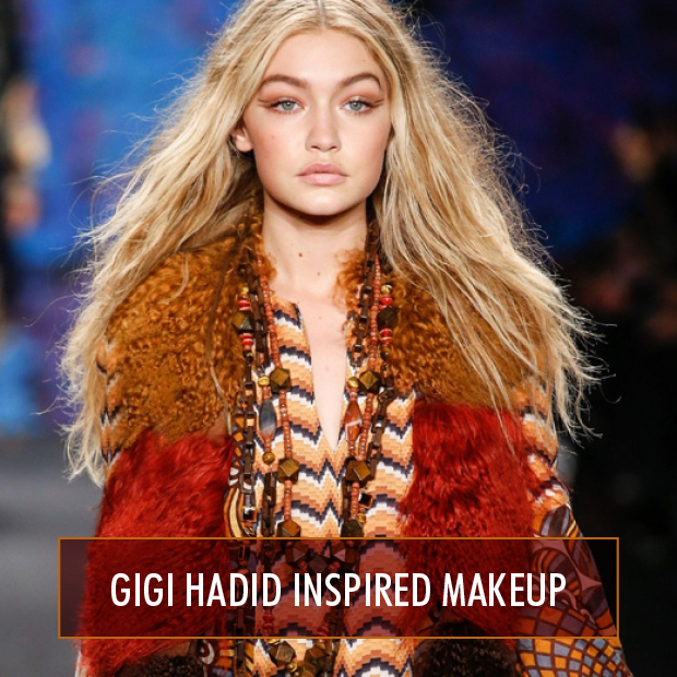 Gigi Hadid Inspired Makeup Hair Extensions Blog Hair Tutorials