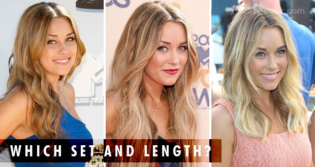 how to get lauren conrads hair using hair extensions