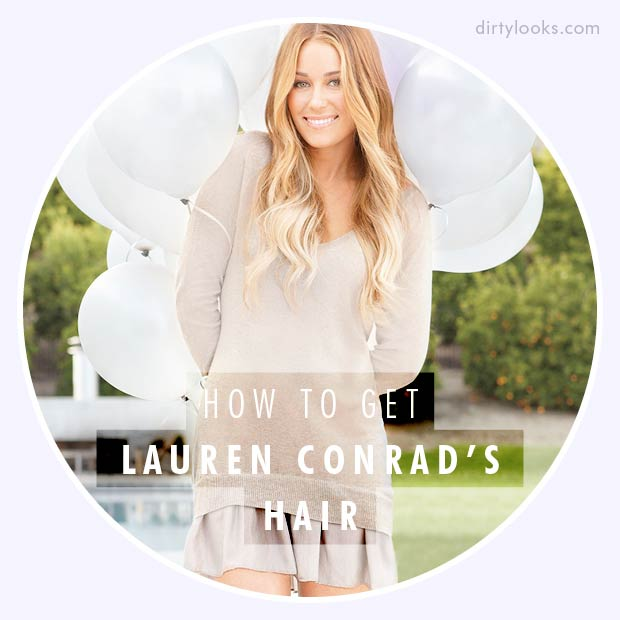 How to get Lauren Conrad's Hair Using Hair Extensions