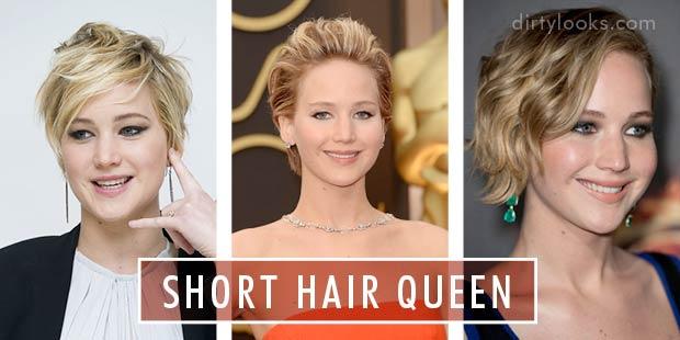 How to style short hair hair extensions blog hair tutorials jennifer lawrence short hair queen pmusecretfo Gallery