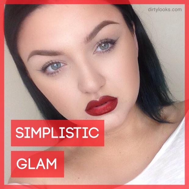 simplistic glam