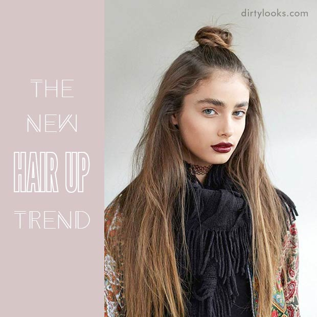 The New Hair Up Trend