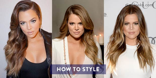 how to style hair like khloe how to get khloe s hair using hair extensions 4251