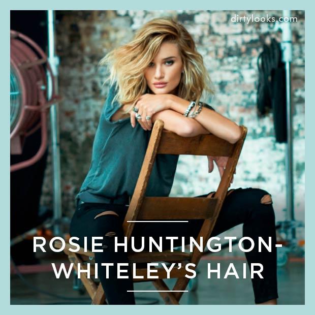 Rosie Huntington Whiteley's Hair