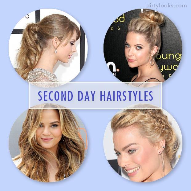 Second Day Hairstyles Hair Extensions Blog Hair Tutorials Hair