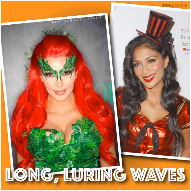 Halloween-Hairstyles-Long-Luring-Waves