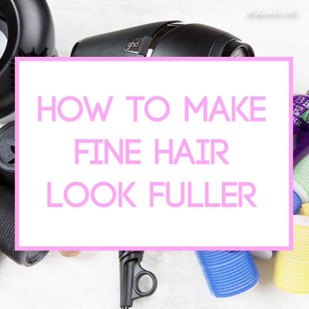 How To Make Fine Hair Look Fuller Hair Extensions Blog Hair