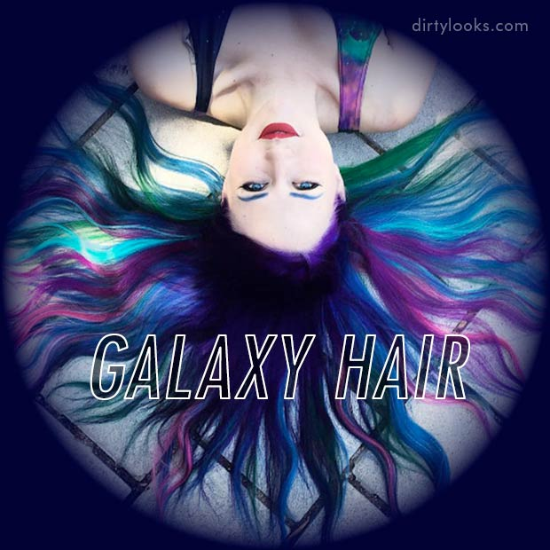 New Hair Trend: Galaxy Hair