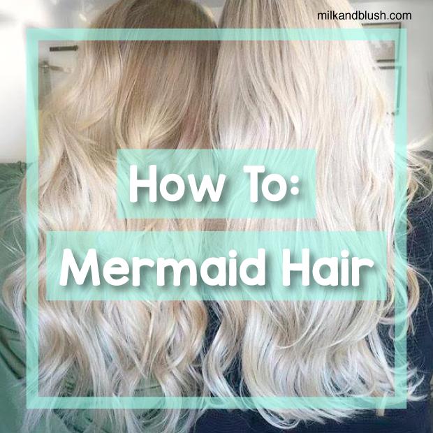 How To Mermaid Hair Hair Extensions Blog Hair Tutorials Hair