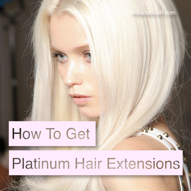 How To Get Platinum Hair Extensions Hair Extensions Blog Hair