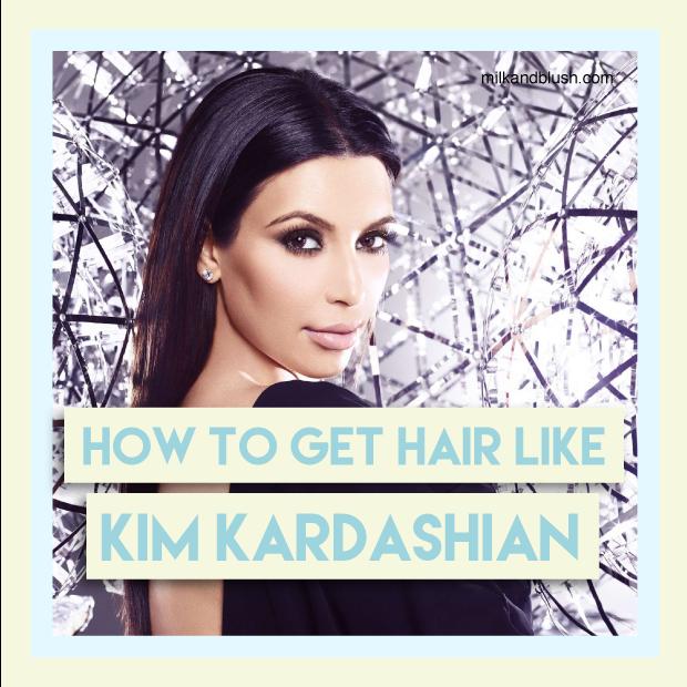 How To Get Hair Like Kim Kardashian Using Hair Extensions Hair