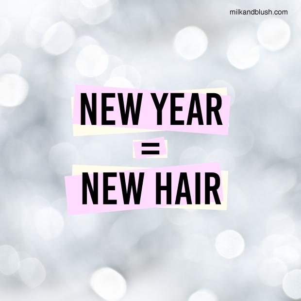 New Year = New Hair