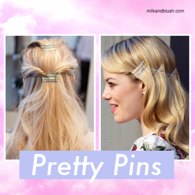Hair Trend Bobby Pin Hairstyles Hair Extensions Blog Hair