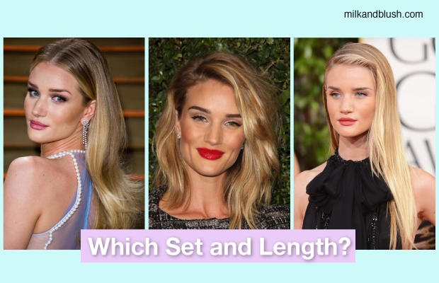 How To Get Hair Like Rosie Huntington Whiteley Using Hair Extensions