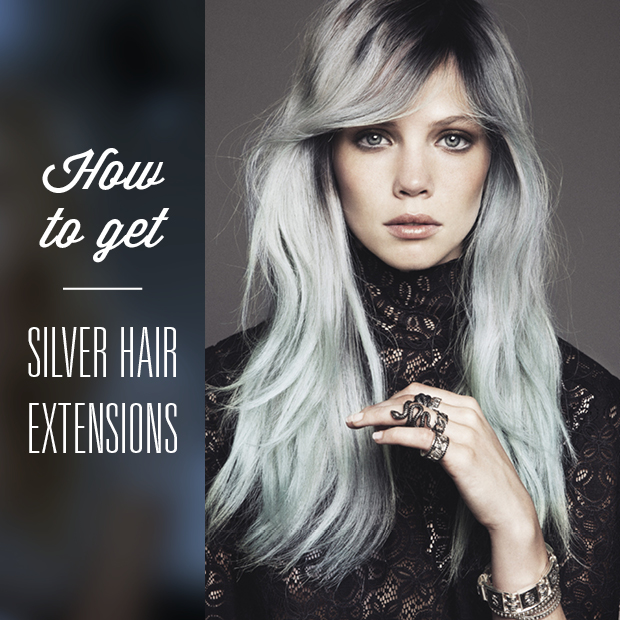 How To Get Silver Hair Extensions Hair Extensions Blog Hair