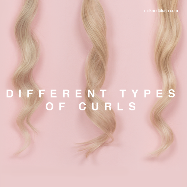 Different Types Of Curls Hair Extensions Blog Hair Tutorials
